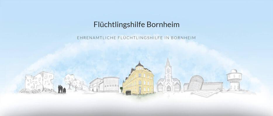 Flüchtlingshilfe Bornheim - Ehrenamtliche Flüchtlingshilfe in Bornheim